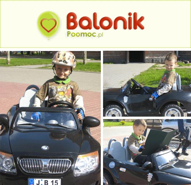 Mikołaj, 4-letni podopieczny Fundacji Mam Marzenie